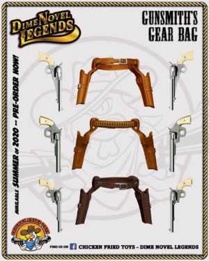 gunshiths gear bag chicken fried toys